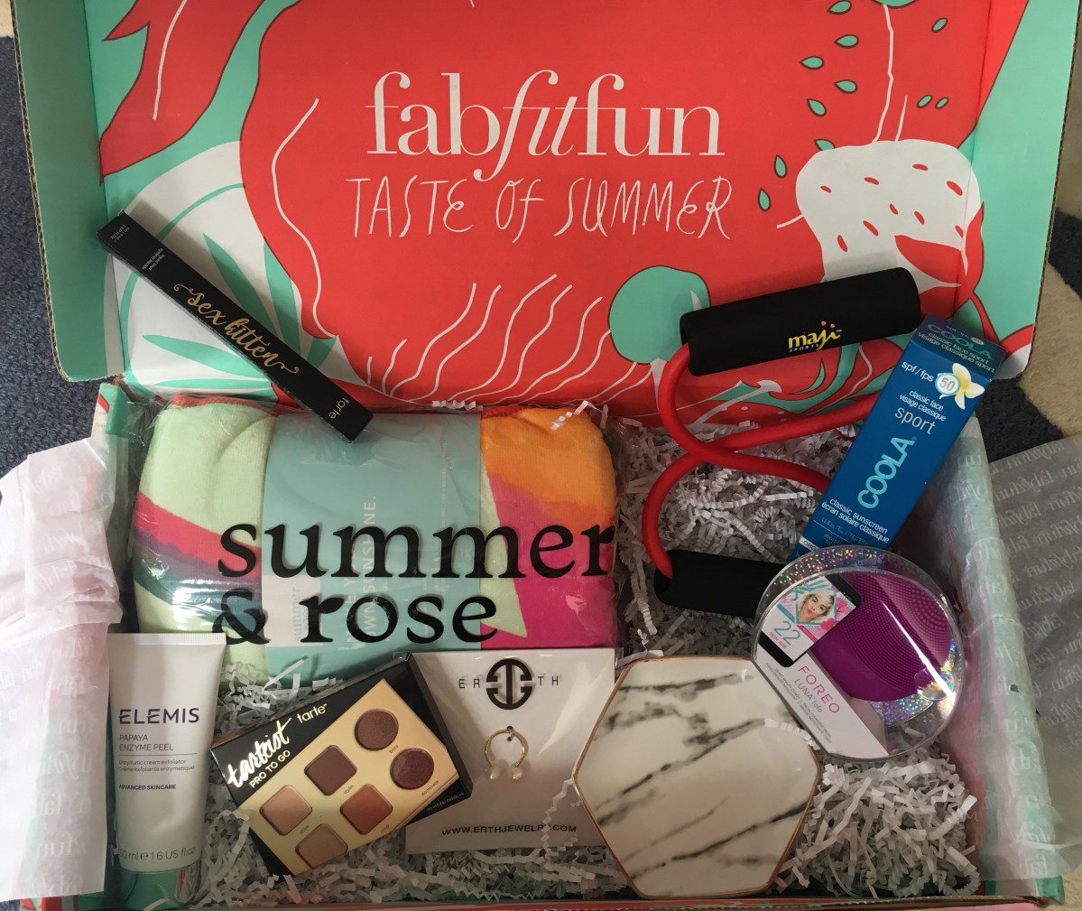 FabFitFun Summer Box Review + $10 Coupon